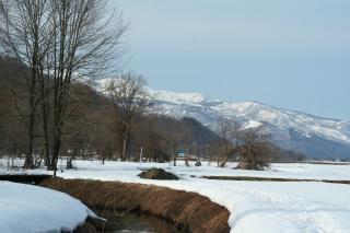 姫川源流からの眺め
