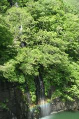 五色の滝 長野市入山  2007/5/26