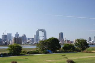 大阪 淀川河川敷公園