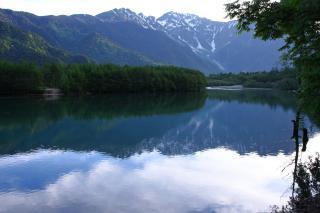 朝の大正池2